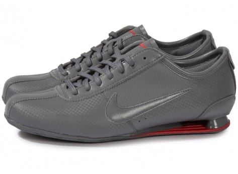 Nike Shox Rivalry Grise - Chaussures Baskets homme - Chausport