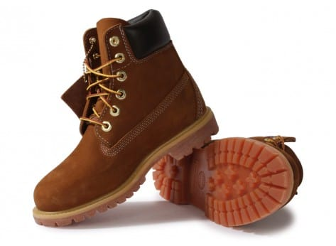 Chaussures Timberland Earthkeepers 6-inch Premium Boot Rouille vue intérieure