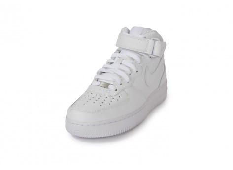 Chaussures Nike Air Force 1 Mid 07 Blanche vue avant