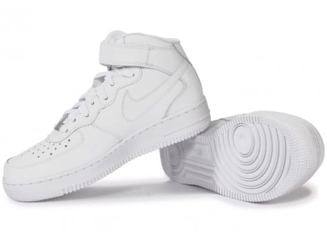 Chaussures Nike Air Force 1 Mid 07 Blanche vue intérieure