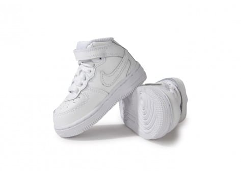 Chaussures Nike Air Force 1 Mid Blanche vue intérieure
