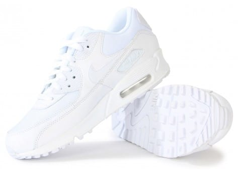 Chaussures Nike Air Max 90 Essential Blanche vue intérieure