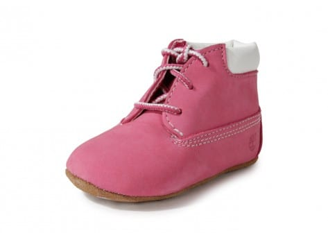 Chaussures Timberland Pack Boots 6-inch Crib Bonnet Rose vue intérieure