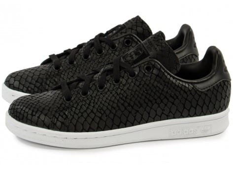 adidas Stan Smith Snake noire - Chaussures adidas - Chausport
