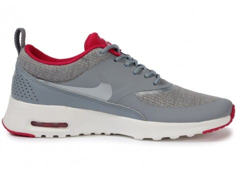 Chaussures Nike Air Max Thea Grise vue dessous