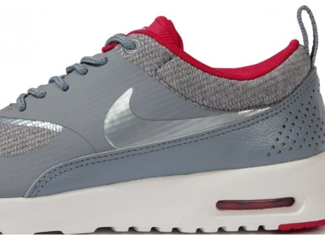 Chaussures Nike Air Max Thea Grise vue dessus