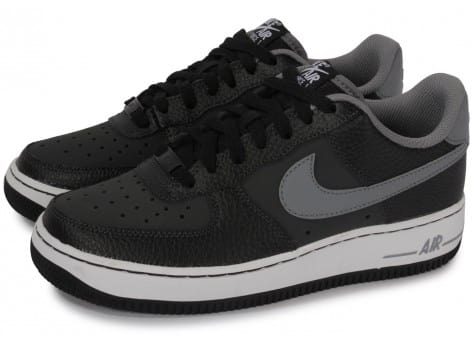 Nike Air Force 1 noire et grise - Chaussures Chaussures - Chausport