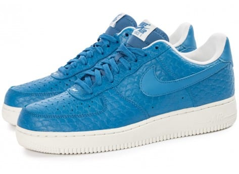 Nike Air Force 1 07 LV8 bleue - Chaussures Baskets homme - Chausport