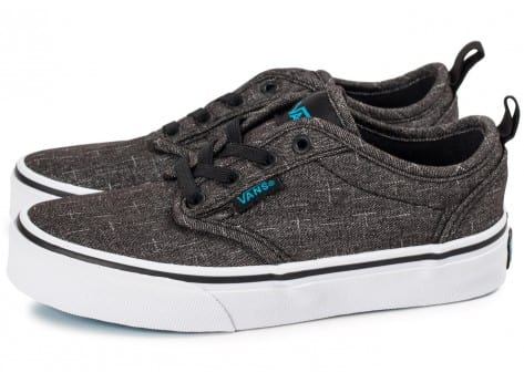 Vans Atwood Slip-on Enfant grise - Chaussures Chaussures - Chausport