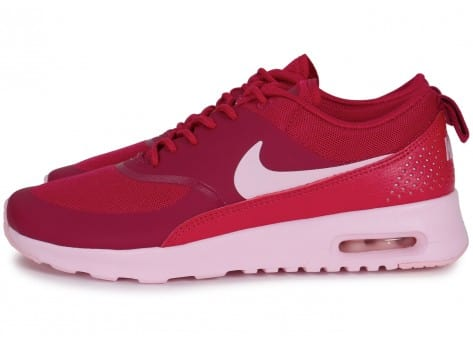 Nike Air Max Thea Rose Rouge - Chaussures Chaussures - Chausport