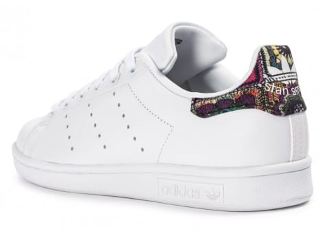 Chaussures adidas Stan Smith W Flower vue arrière