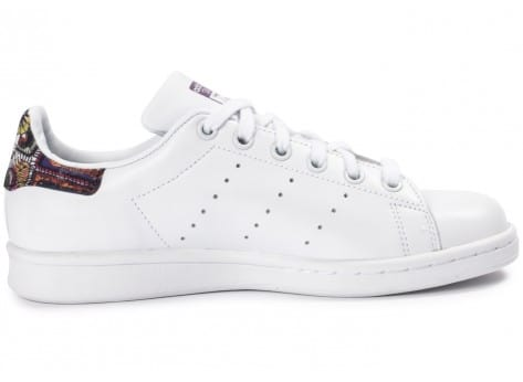 Chaussures adidas Stan Smith W Flower vue dessous