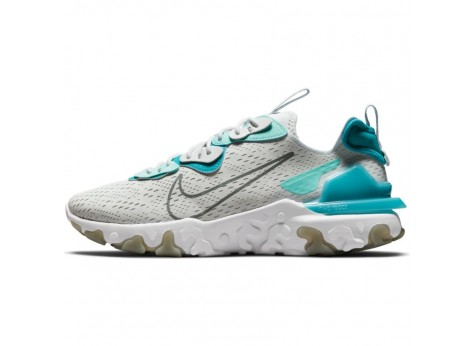 Nike Nike React Vision 2 Gris et Blanc Homme - Chaussures Baskets ...