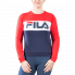 Sweat Fila Sweat Leah bleu et rouge femme