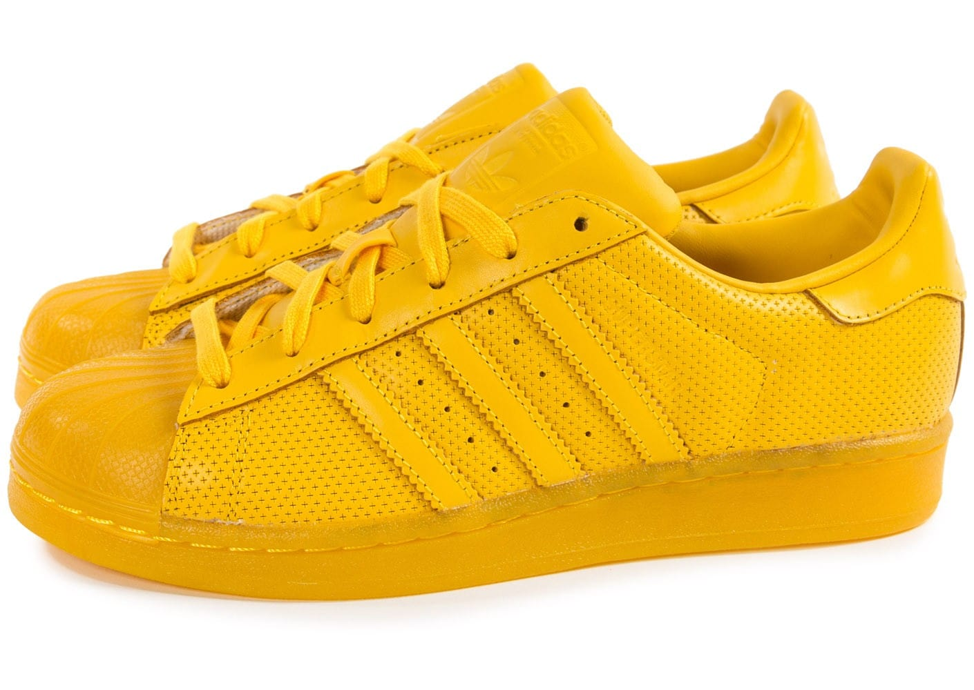 chaussures adidas couleur jaune