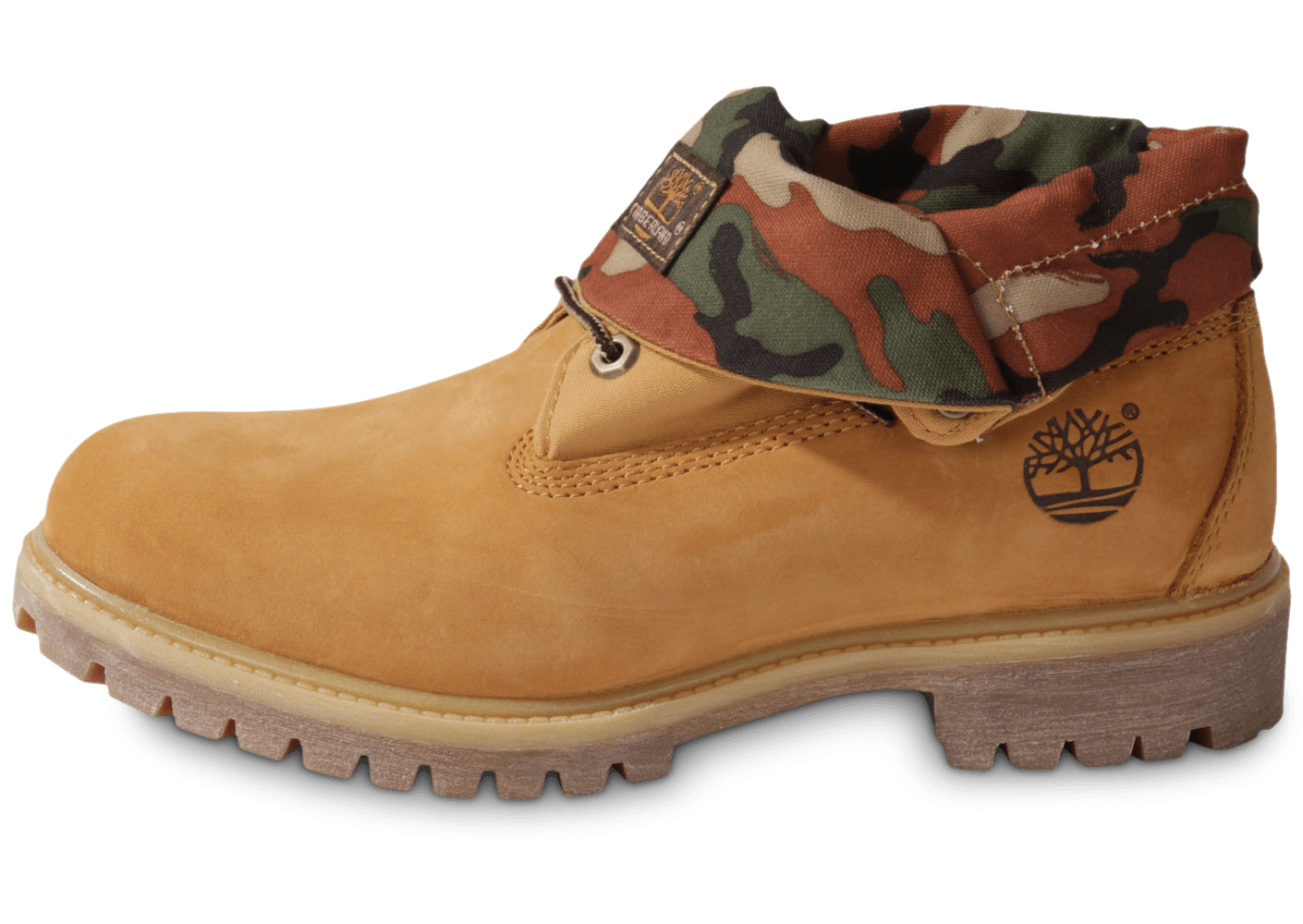 Timberland 6 Inch Icon Roll Top Camo Beige Chaussures Baskets Rjxaazqi-150330-2106525 Vente