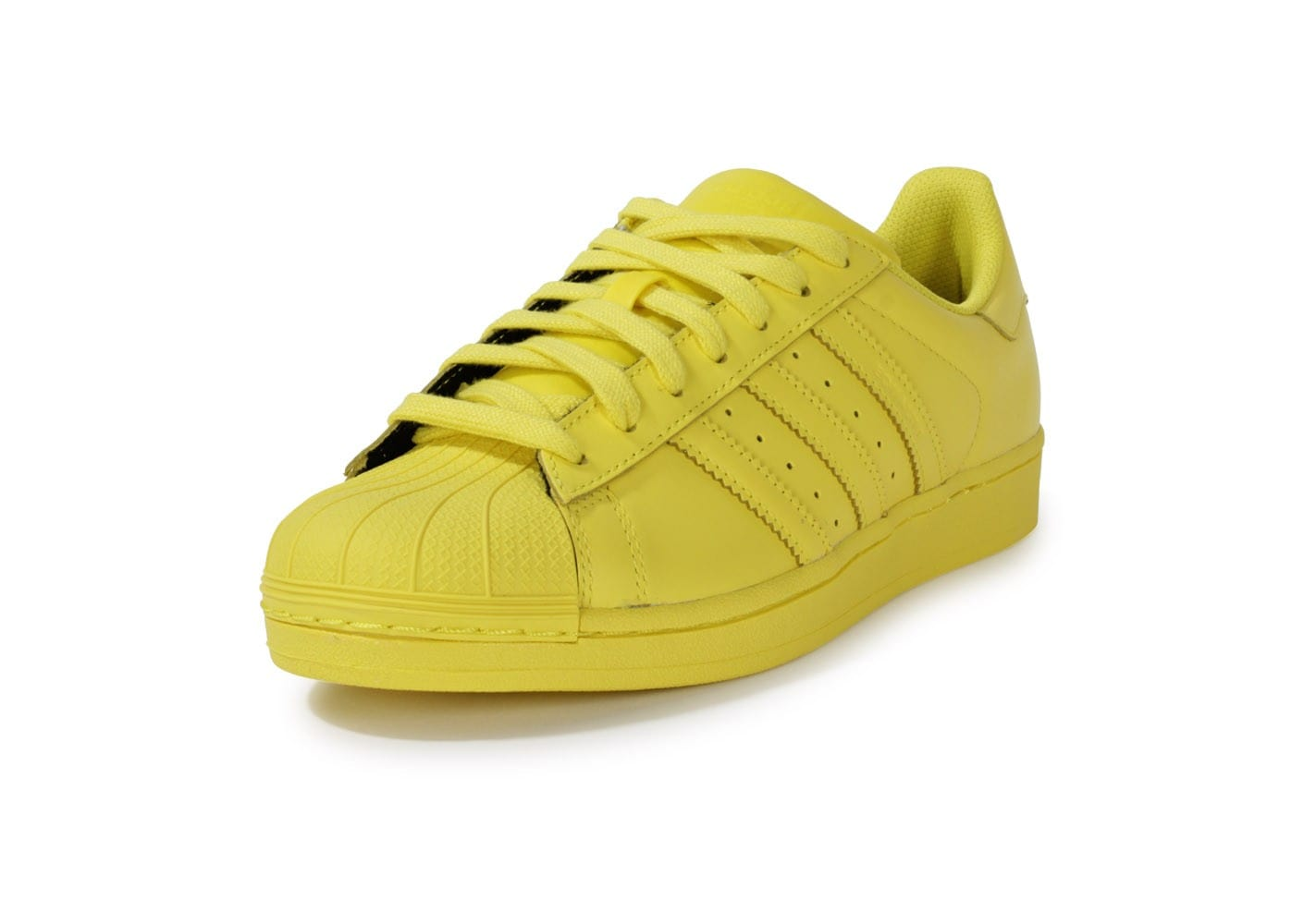 ... Chaussures adidas Superstar Supercolor Jaune vue avant ...
