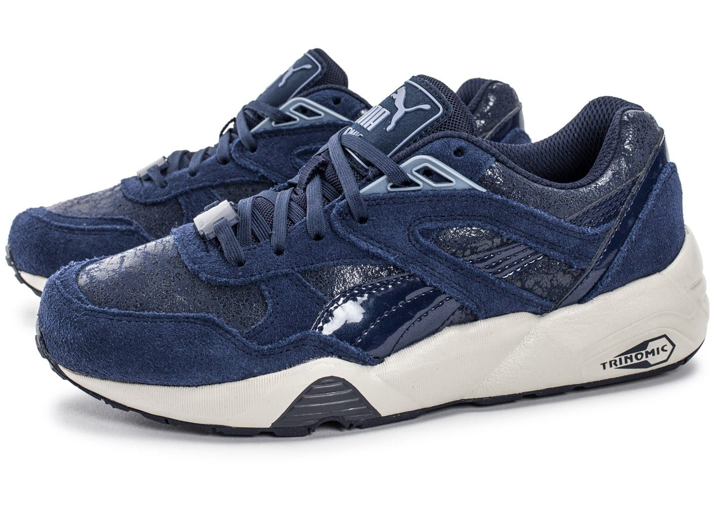 Trinomic Specific Chaussures Baskets Element R698 Bleu Marine Puma uPwTkOZiX