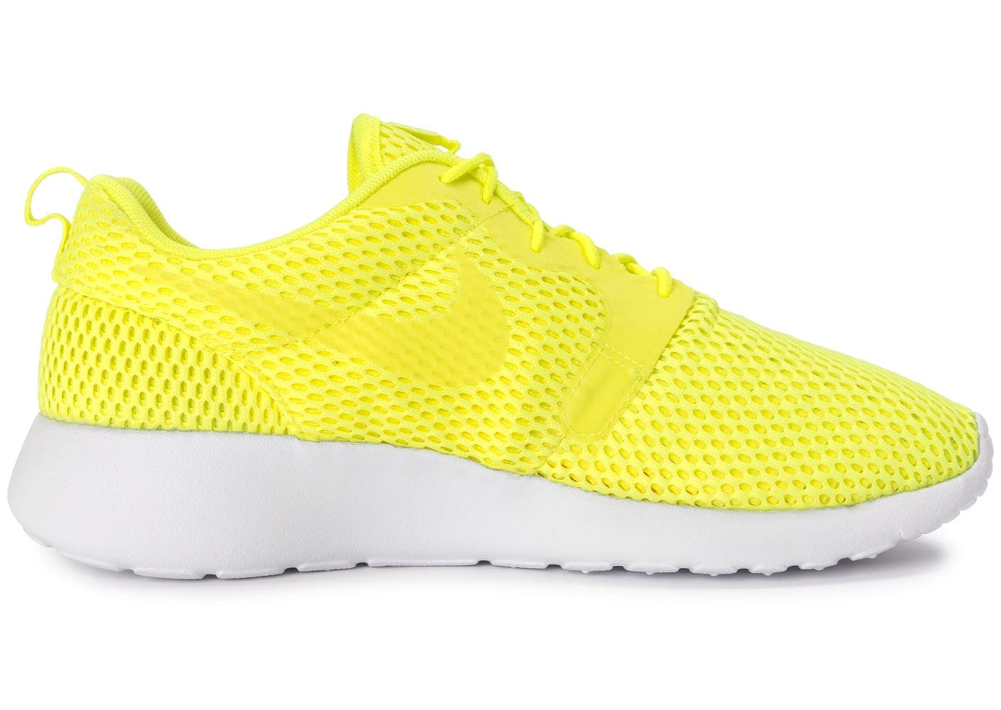 images détaillées 54a89 14231 Nike Roshe One Hyperfuse BR Jaune - Chaussures Baskets homme ...