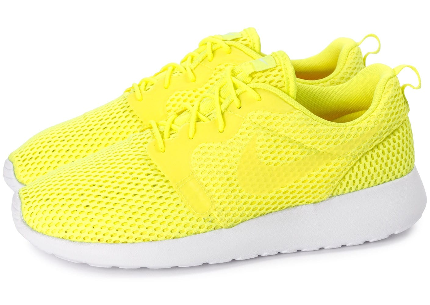 Nike Roshe One Baskets Hyperfuse Br Jaune Chaussures Baskets One Homme Chausport 2e6e2c