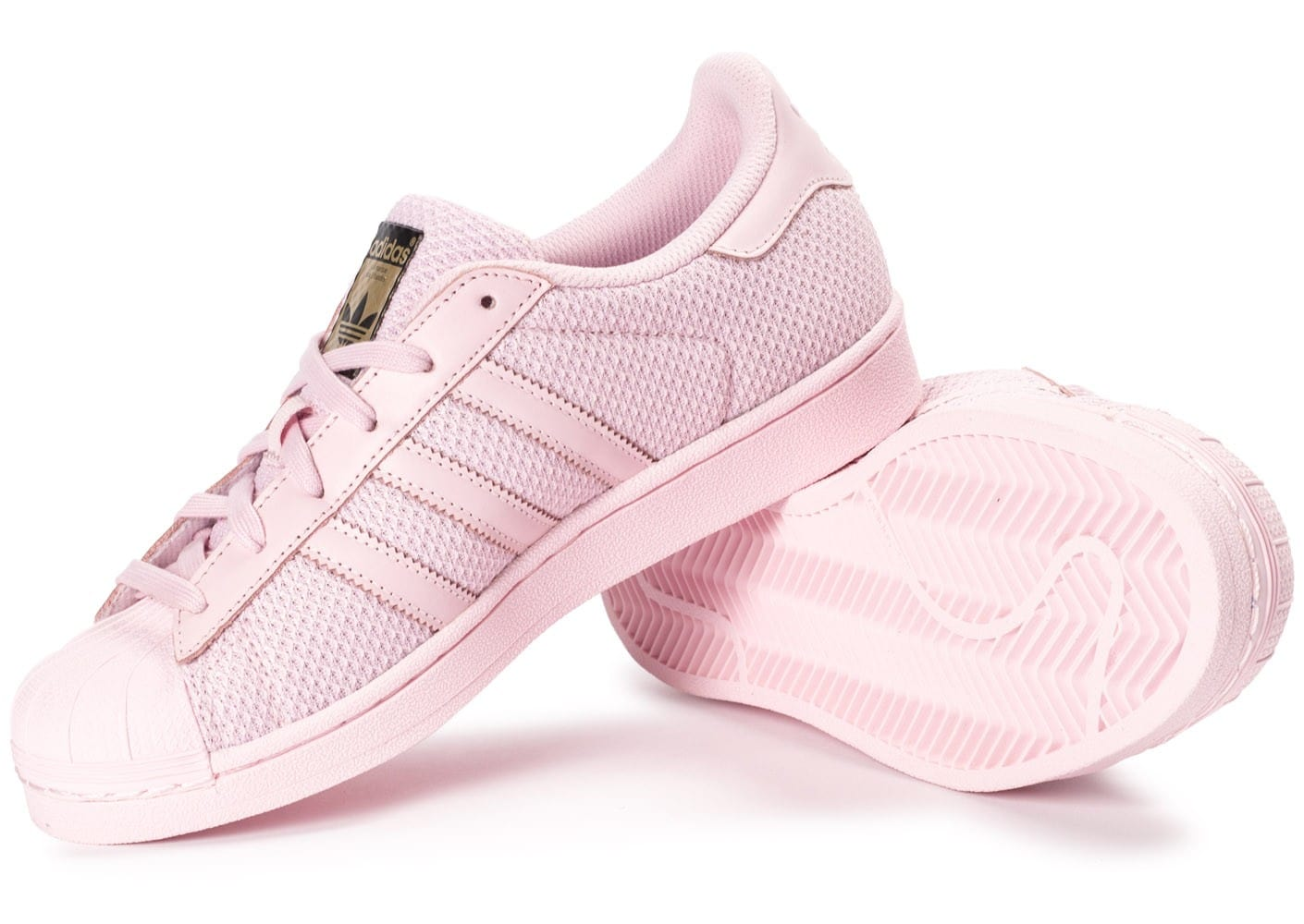 adidas superstar junior rose