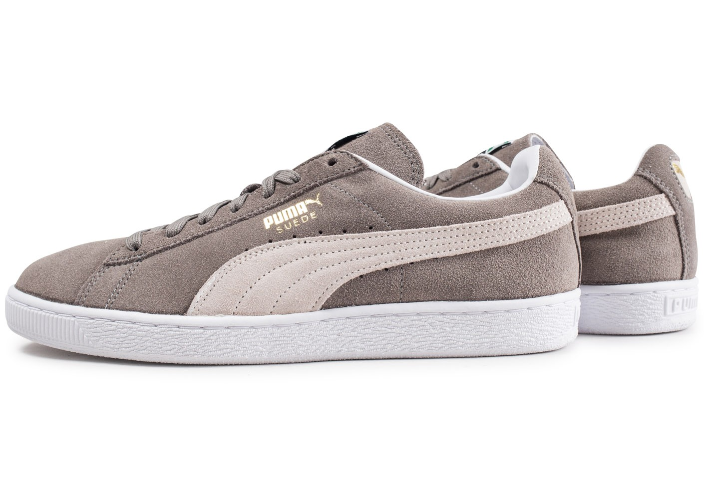 taille 40 a4516 90455 Puma Suede Classic Grise - Chaussures Baskets homme - Chausport