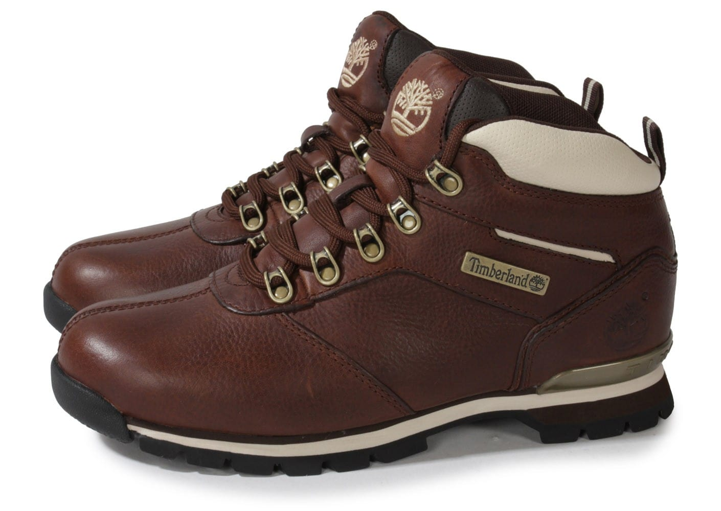 bottines timberland marron