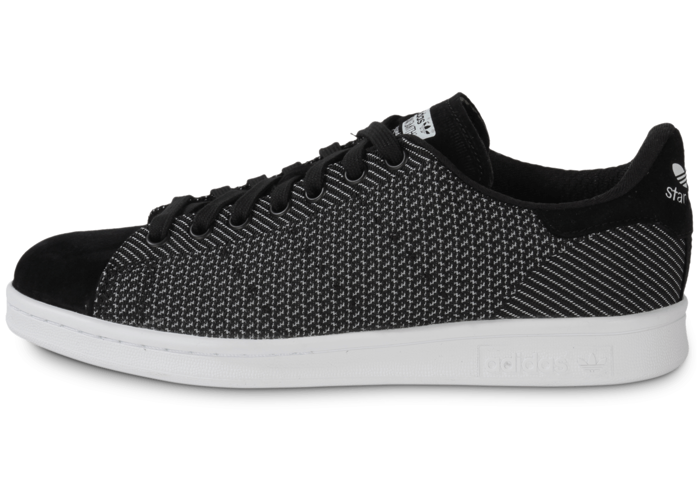 factory authentic 360e0 8680c adidas Stan Smith Core Black - Chaussures Baskets homme - Chausport