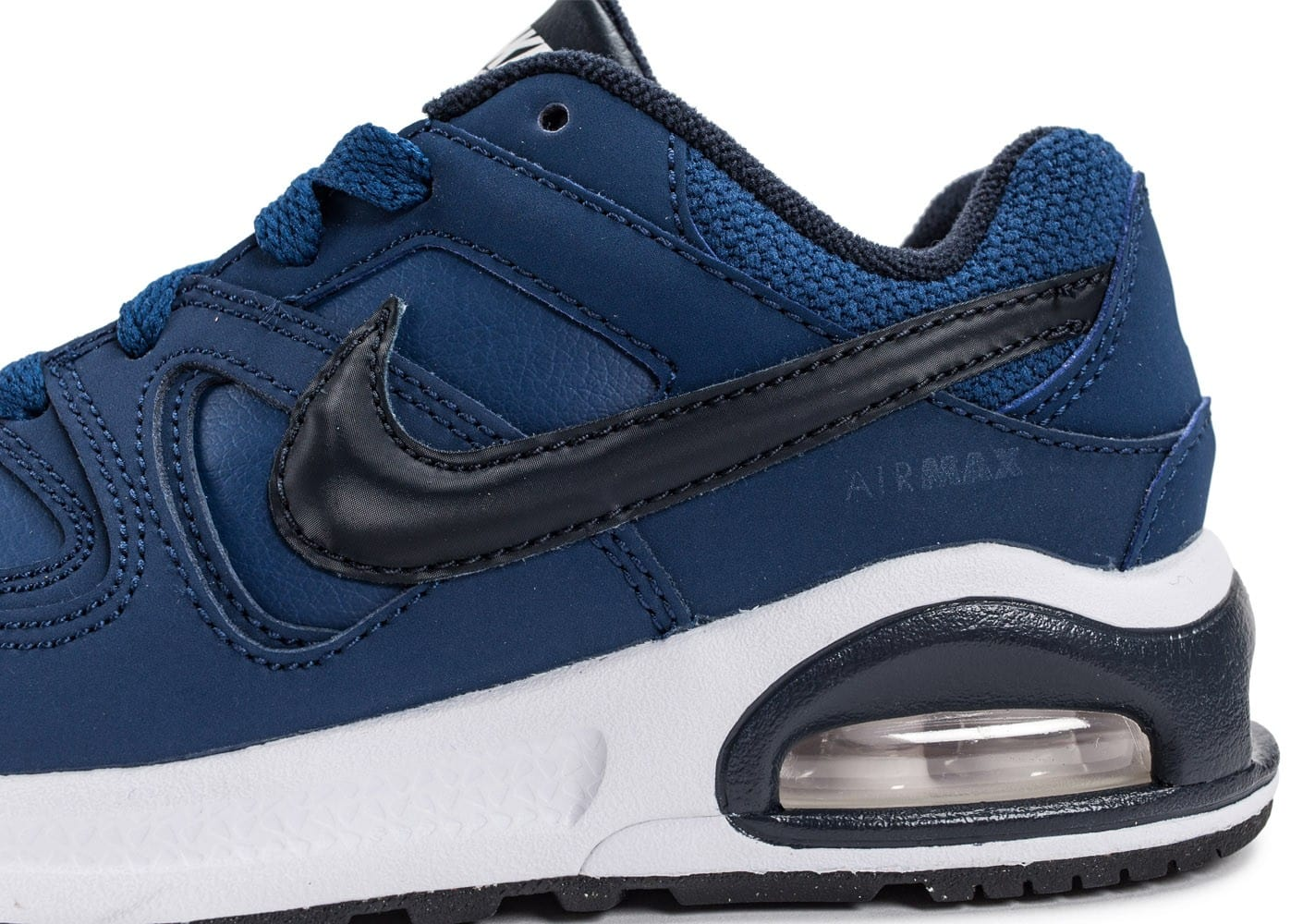 huge selection of skate shoes best online Nike Air Max Command Flex Enfant bleu marine - Chaussures Enfant ...