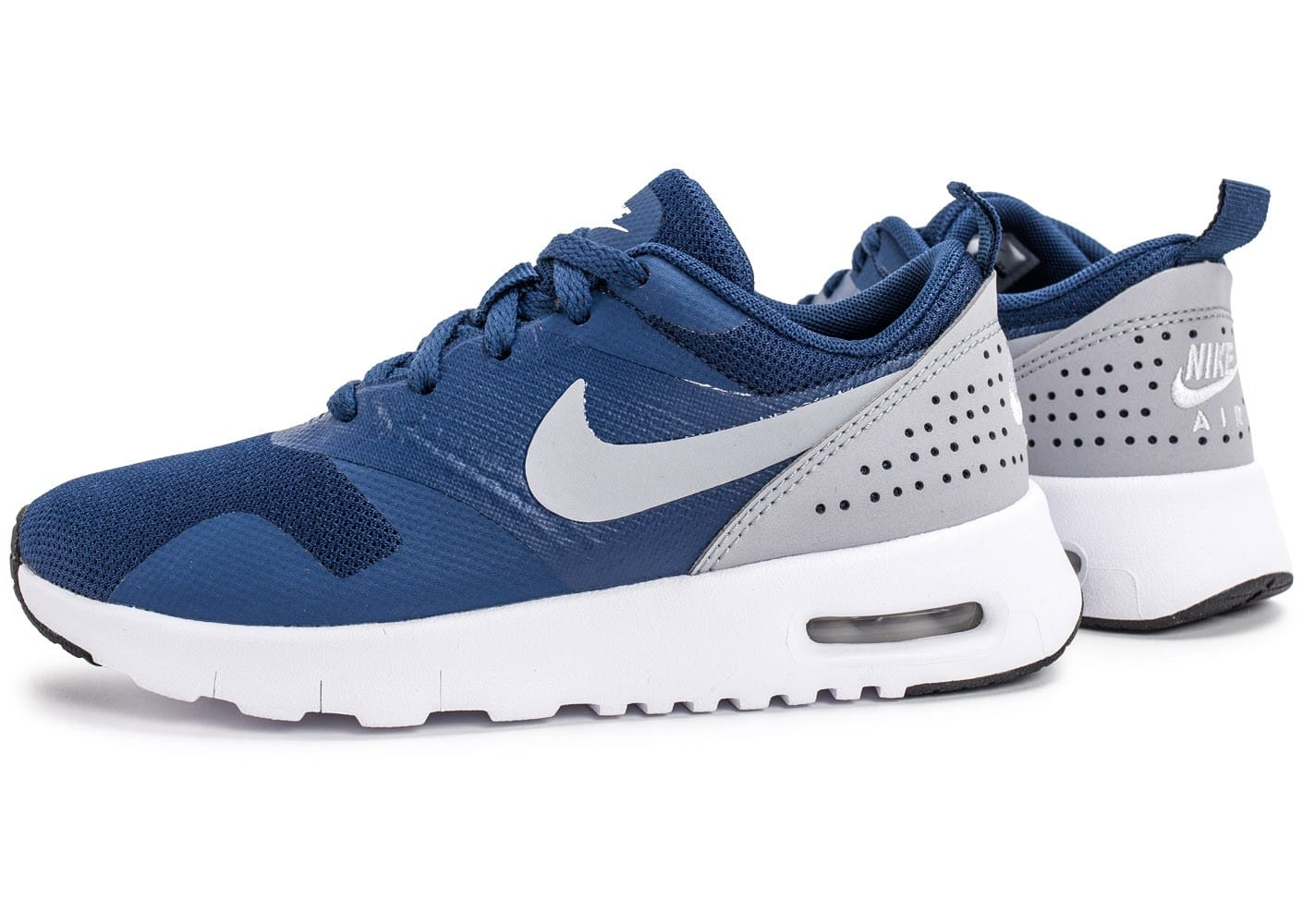 nike air max tavas se enfant bleue et grise chaussures enfant chausport. Black Bedroom Furniture Sets. Home Design Ideas