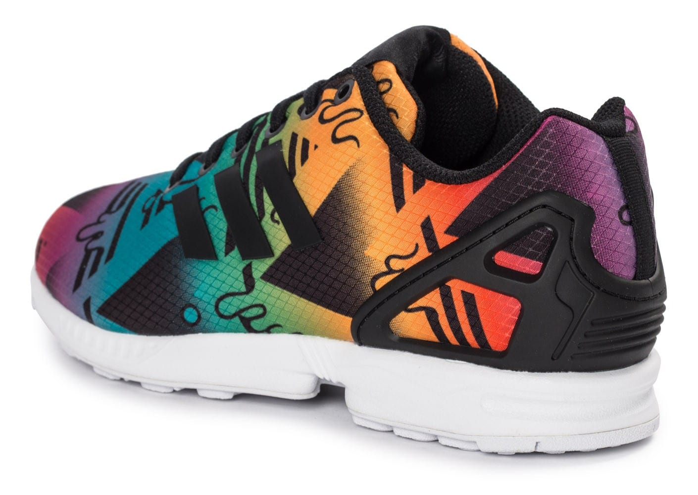 adidas Zx Flux Multicolor Chaussures Baskets homme Chausport