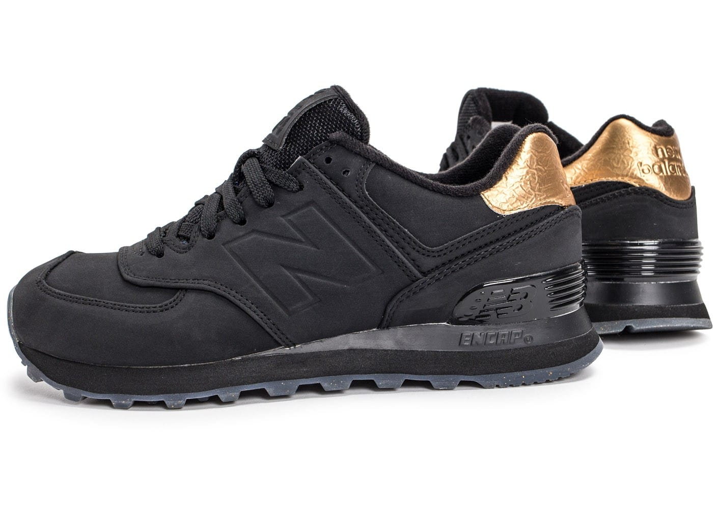 new balance noir et or rose