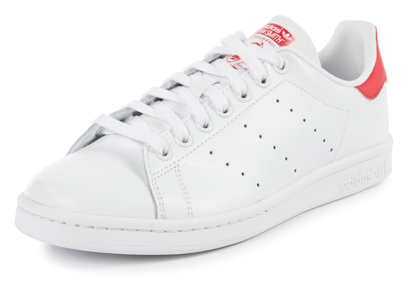 stan smith rouge et blanche