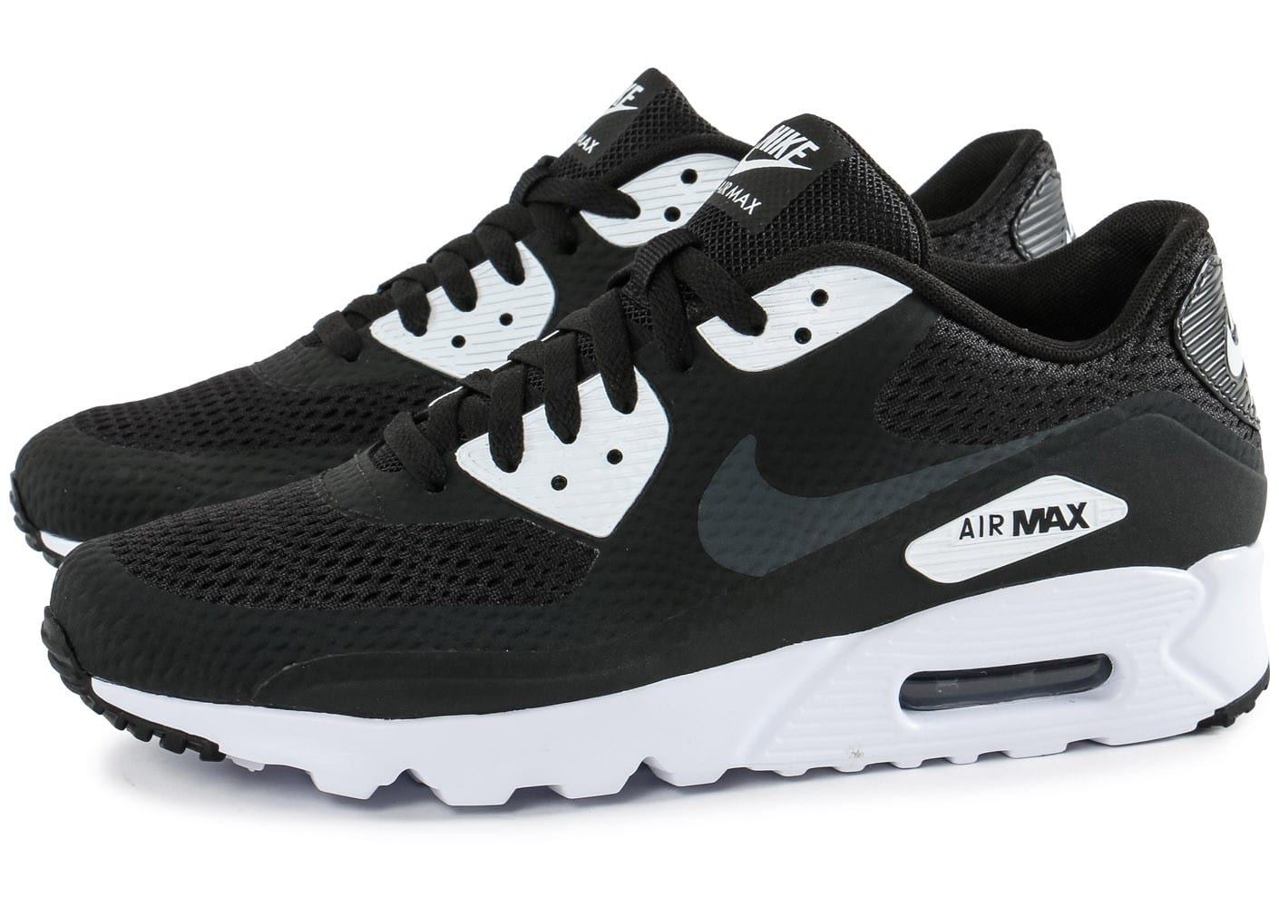 Nike Air Max 90 Ultra Essential noire et blanche