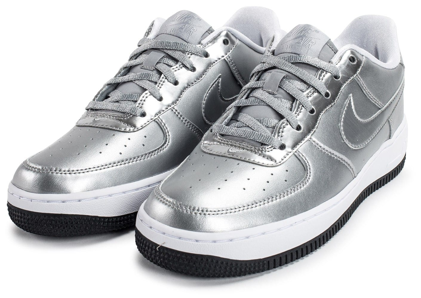 Nike Air Force 1 SE Silver Pack Chaussures Baskets femme