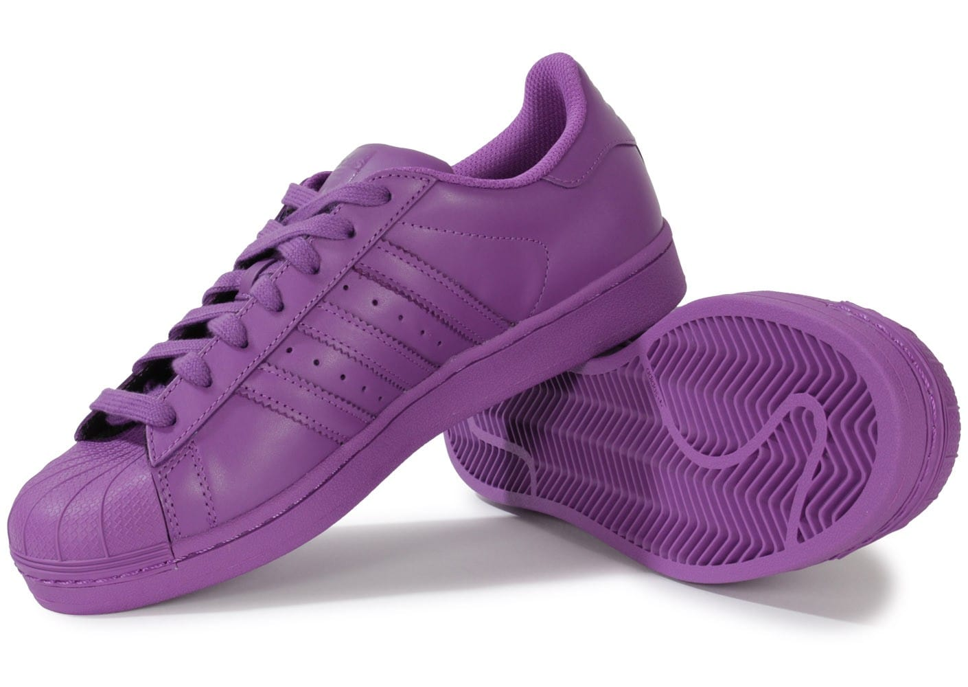adidas Superstar Supercolor Ray Purple Chaussures Baskets