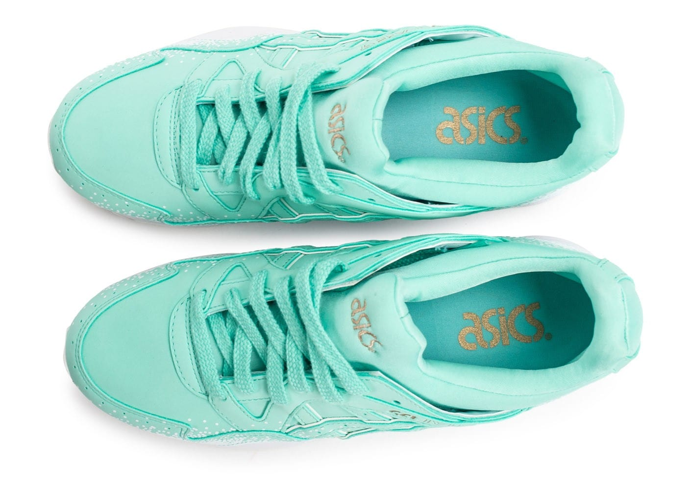 chaussures asics femme turquoise