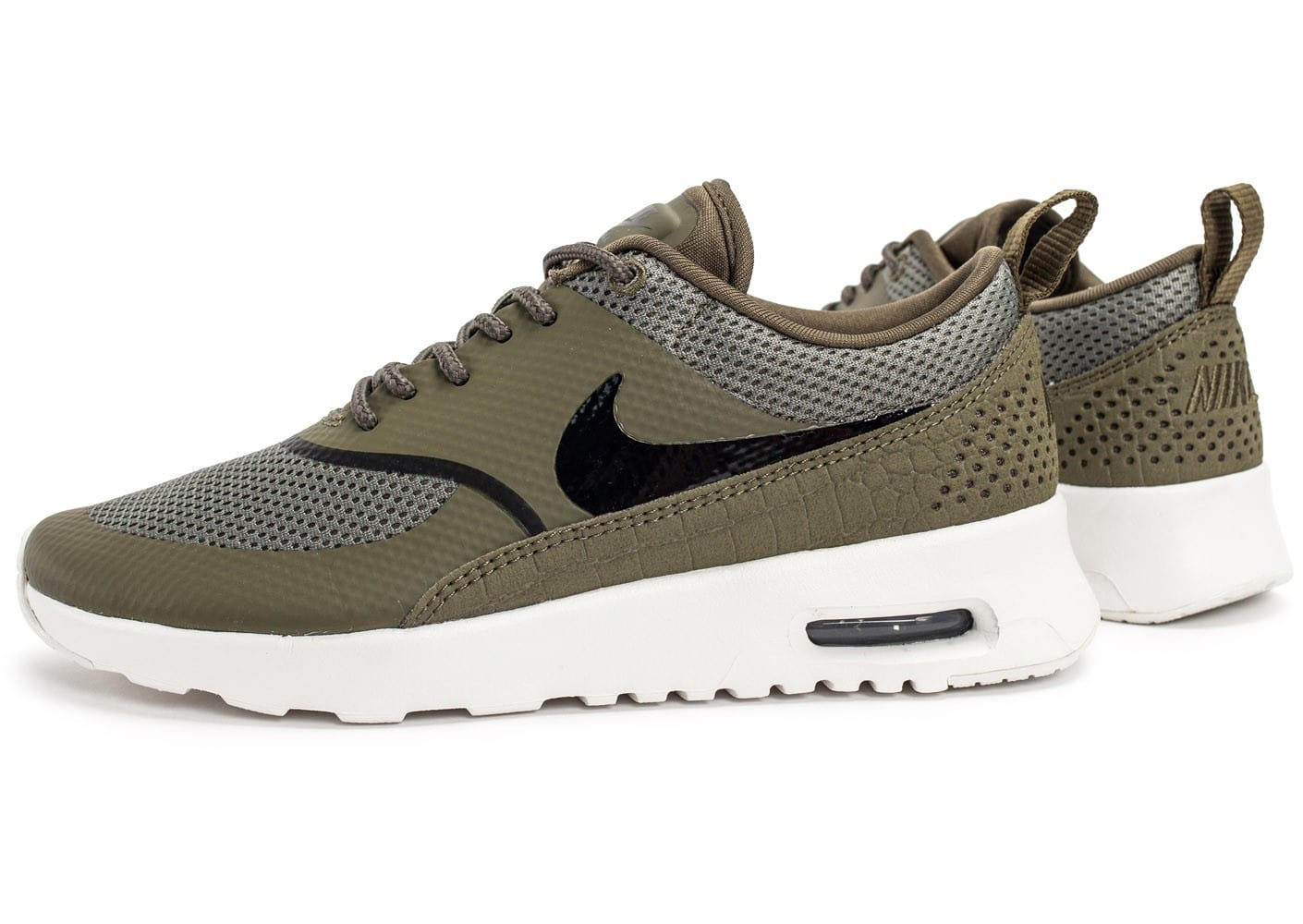 Nike Sportswear AIR MAX THEA Baskets basses medium olive