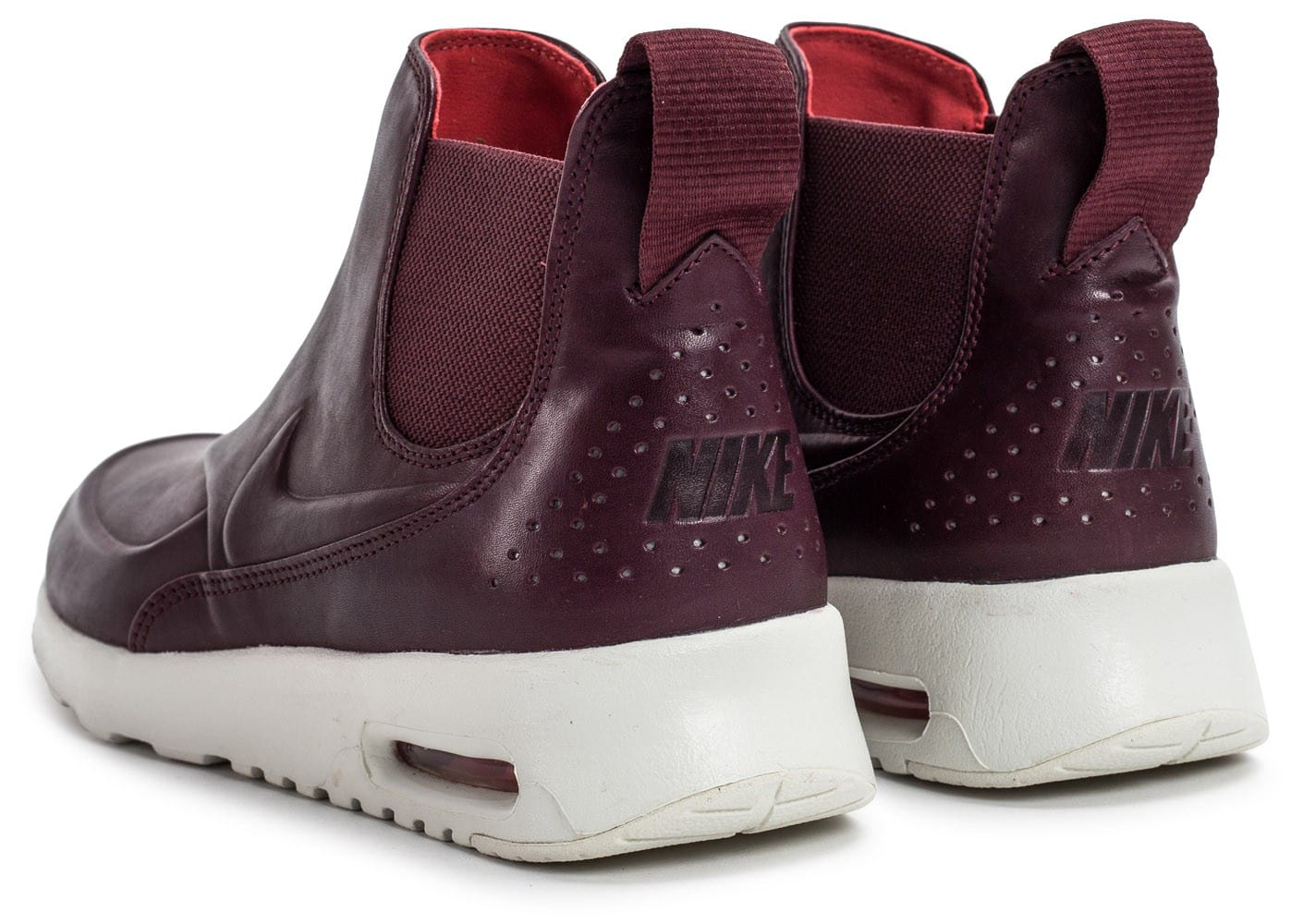 good selling amazing price nice shoes Nike Air Max Thea Mid bordeaux - Chaussures Baskets femme - Chausport
