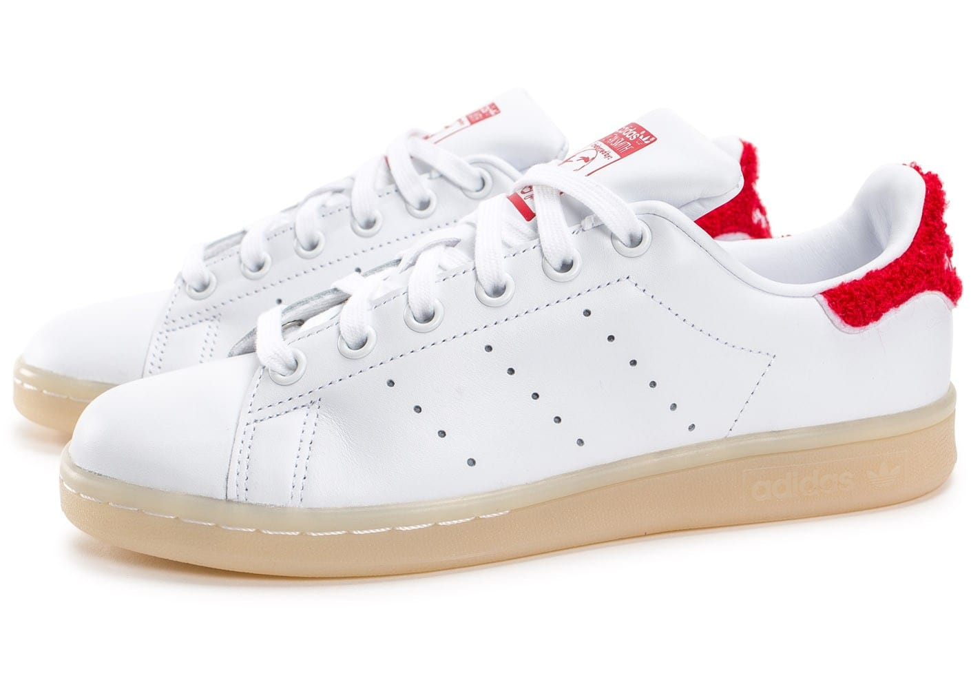 adidas stan smith rouge blanc