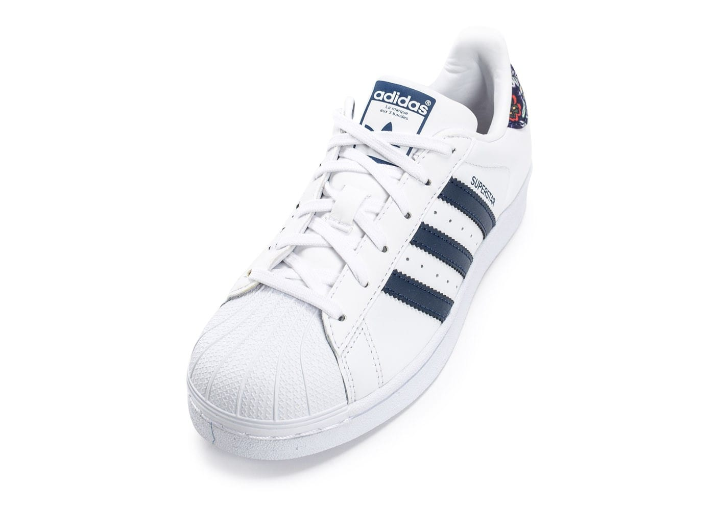 plus récent cea7f 8385b discount adidas superstar marine bleu 1542d 9e81c