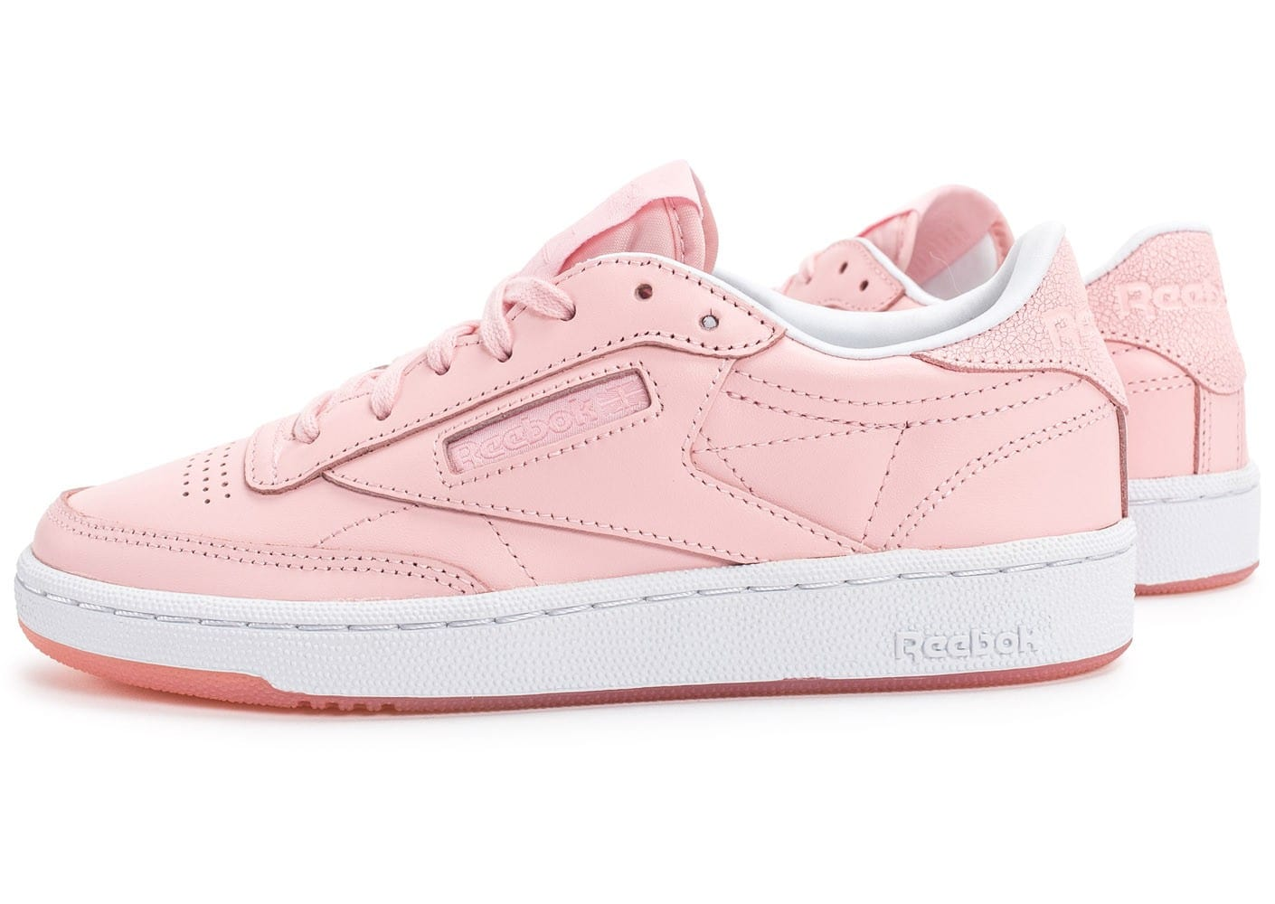 Reebok Club C85 Face Stockholm rose Chaussures Baskets