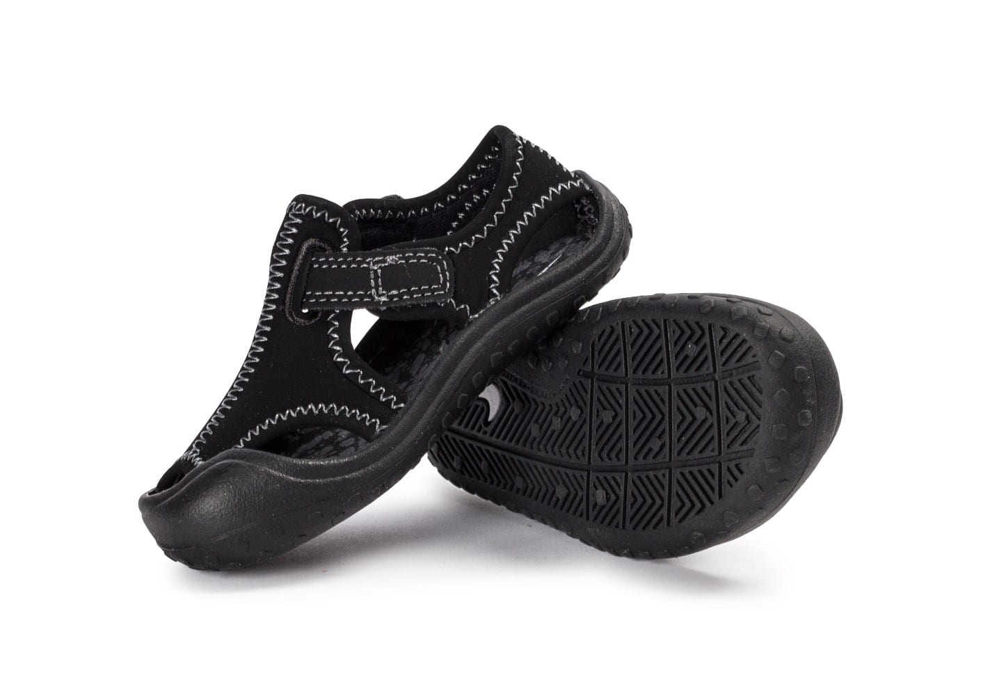 detailed look 76bcb b20b6 ... Chaussures Nike Sunray Protect noire vue intérieure ...