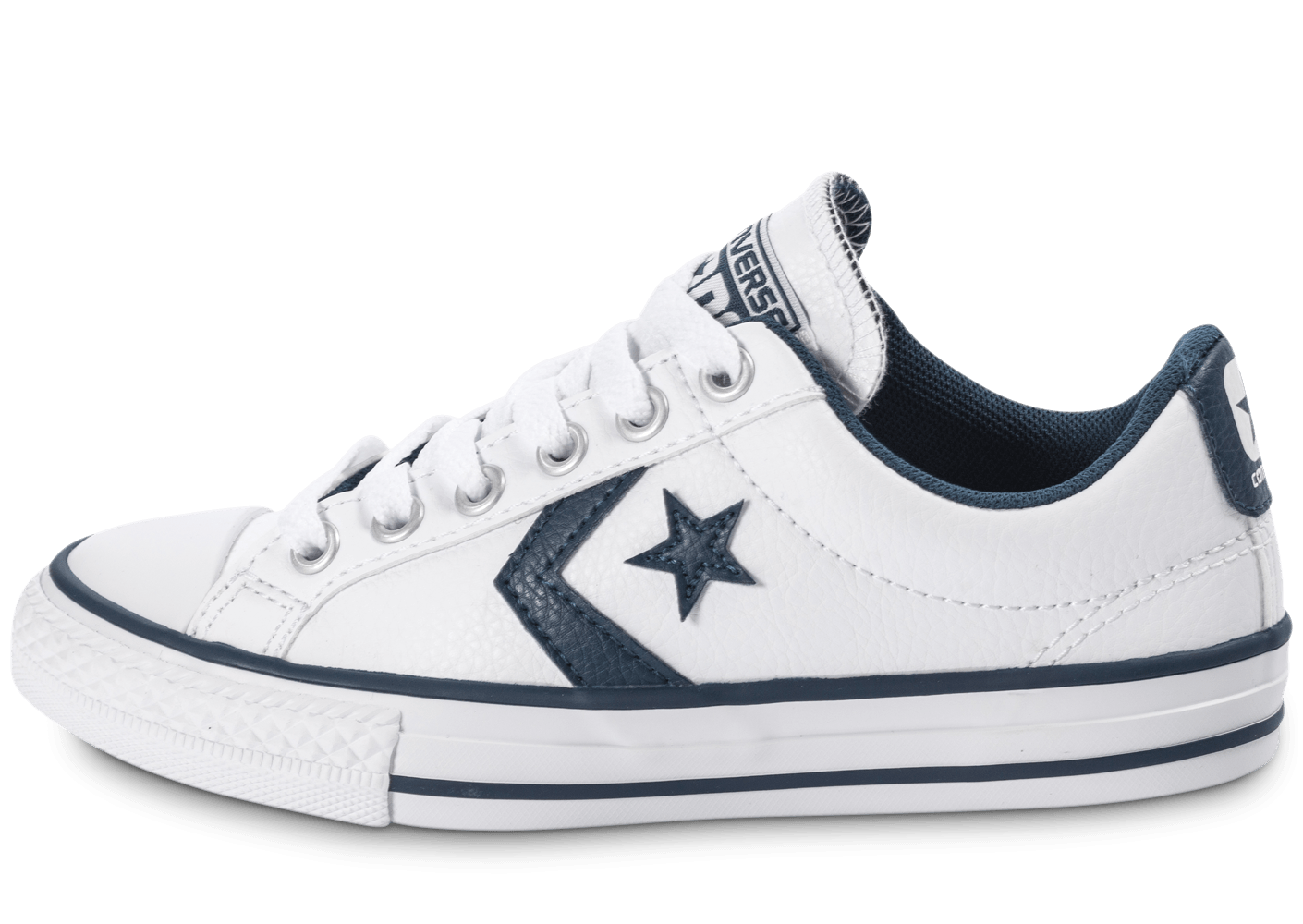 Converse Star Player Ev Ox White Blanc - Chaussures Baskets basses Homme