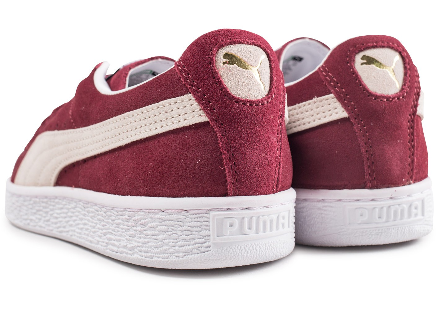 Classic Chaussures Homme Puma Bordeaux Baskets Chausport Suede O0wyvNm8n