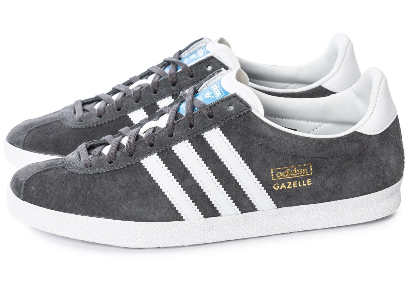 adidas Gazelle OG Grise - Chaussures Baskets homme - Chausport