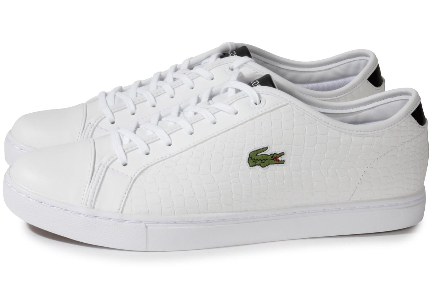 Chaussures Lacoste blanches homme GW0Xk9