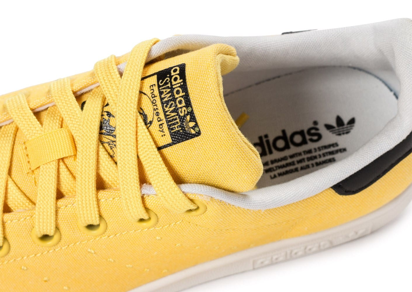lowest price 61741 1be27 ... Chaussures adidas Stan Smith W Spring Yellow BBQ vue dessus