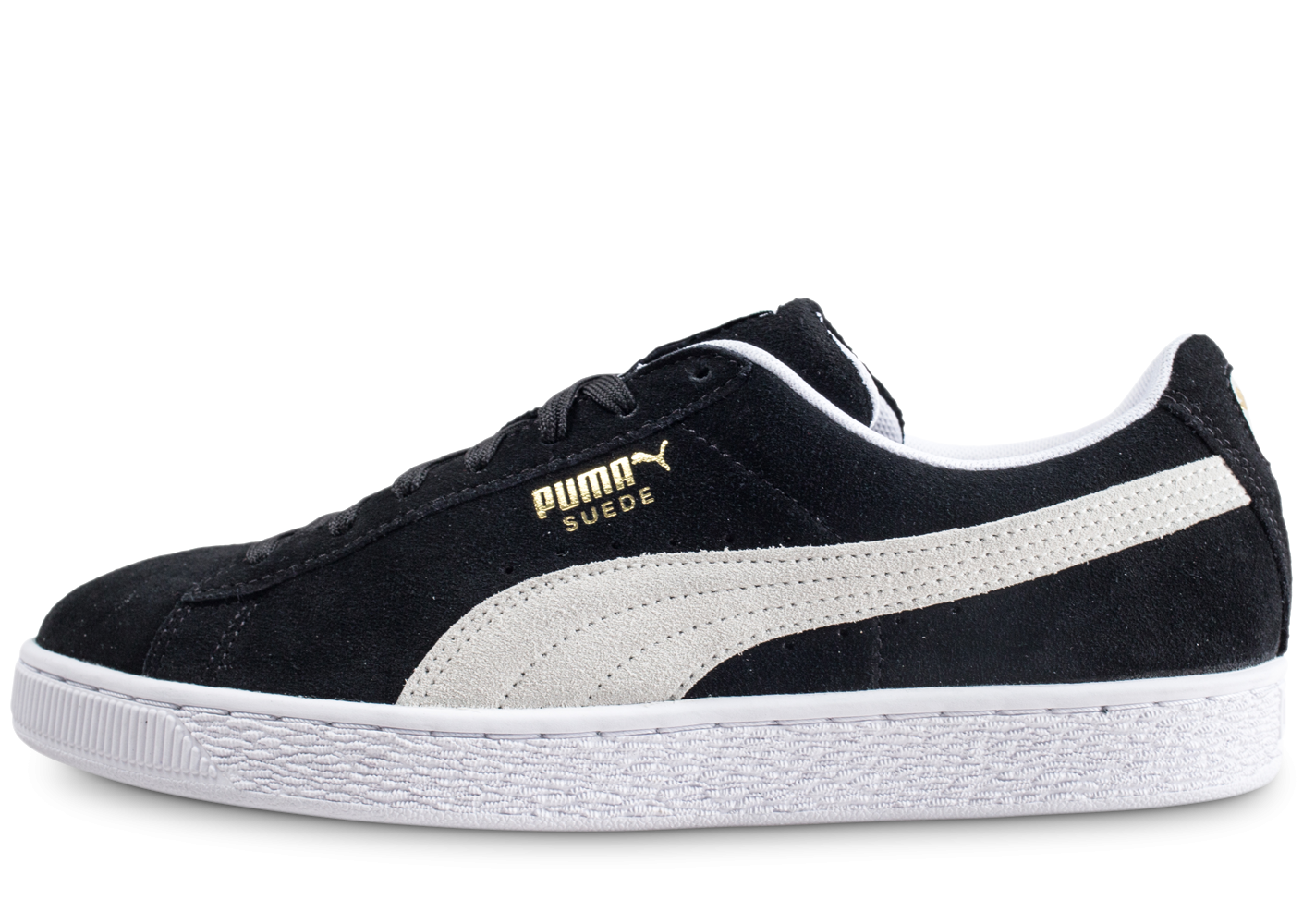 8f2007fd50b0a Puma Suede Classic Noire - Chaussures Baskets homme - Chausport