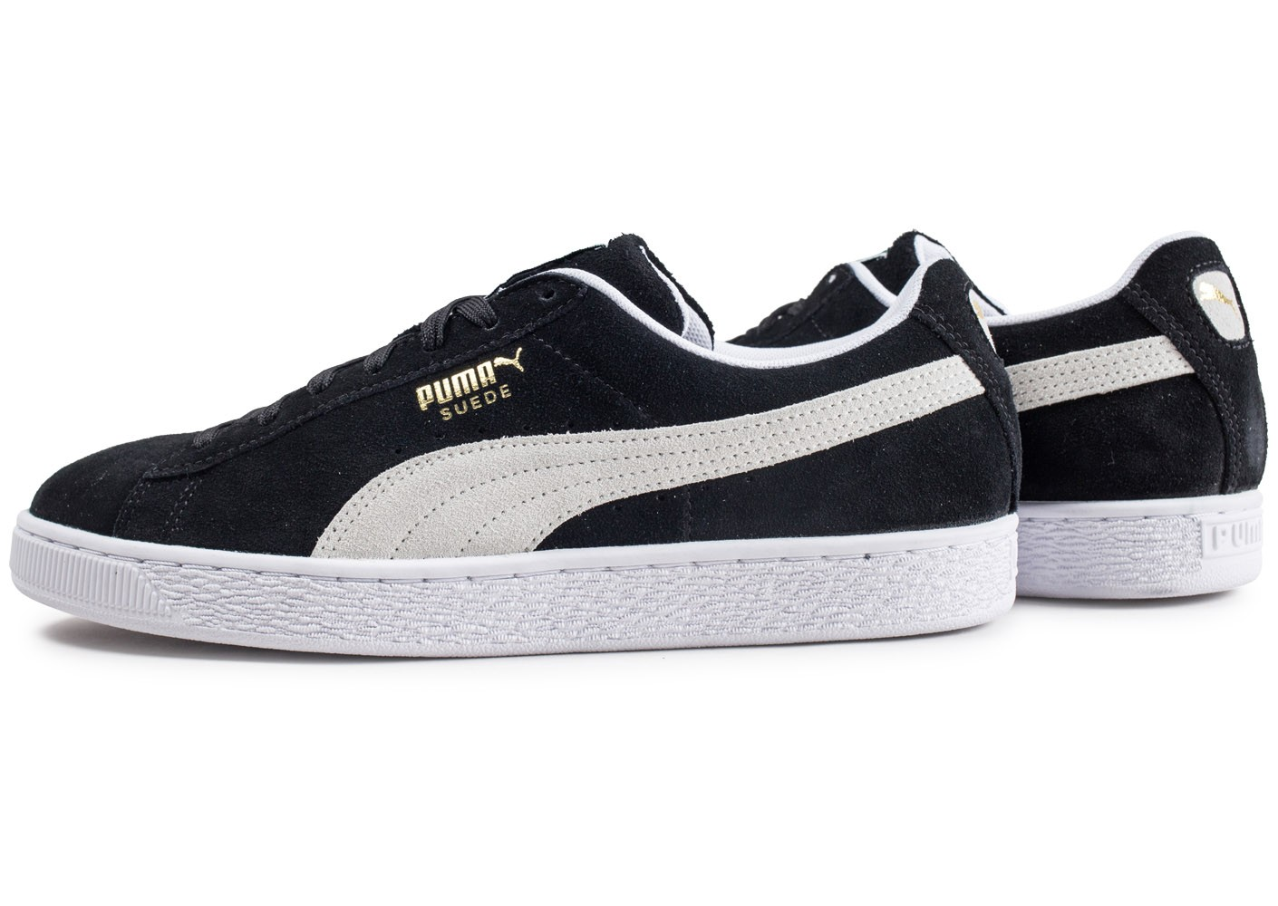 Homme Classic Baskets Puma Noire Chausport Suede Chaussures gy67Ybf